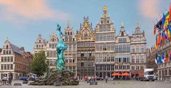 Антверпен алмазная столица мира